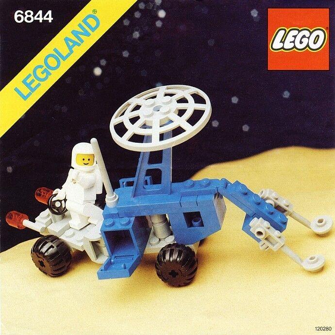 Nuevo Lego clásico espacio 6844 Seismologic Vehicle (sismobile) LEGOLAND 1983'
