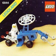 NEW Lego Classic Space 6844 Seismologic Vehicle (Sismobile) LEGOLAND 1983'