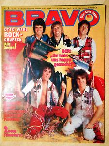 Bravo-3-1976-Komplett-OTTO-Sieger-Rock-Nastassja-Kinski-Maggie-Mae-TOP