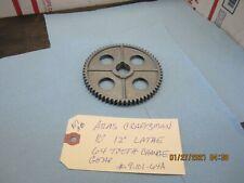 Atlas Craftsman 10 12 Lathe 64 Tooth Gear