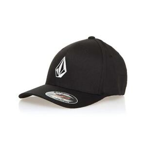 f8e097d69911e Volcom Full Stone X-Fit Cap Black Volcom Men s Accessories Casual ...