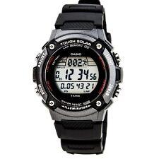 Casio WS200H-1B Mens Black resin TOUGH SOLAR Sports Watch 100M LED Alarm