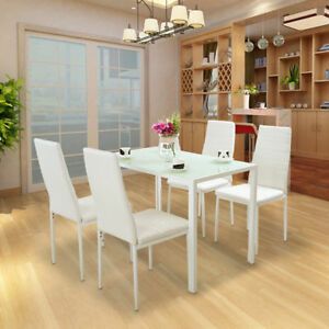 Contemporary-Dining-Set-with-Table-and-4-Chairs-Black-White-Kitchen-Furniture-UK