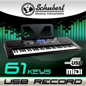 USB-MIDI-61-TASTEN-MASTER-KEYBOARD-KLAVIER-PIANO-CONTROLLER-USB-PC-REC-SCHWARZ