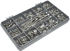 272 ASSORTED A2 STAINLESS STEEL SELF TAPPING SECURITY PIN CSK SCREW TORX KIT