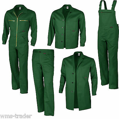 Gartenhose Gärtnerkleidung Gärtnerhose Latzhose Gärtner Arbeitshose Can grün neu