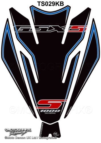 Suzuki GSX-S1000 S1000F 2015 16 17 18 Motorcycle Tank Pad Protector Motografix