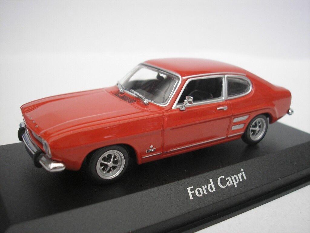 sorteos de estadio Ford Capri i 1969 Rojo 1 43 maxichamps 940085500 940085500 940085500 Nuevo  conveniente