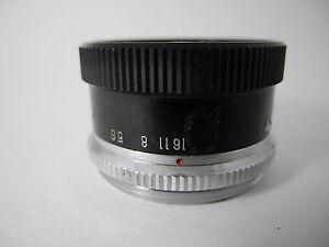 Vergrößerungsobjektive Prinz 75/3.5 Erweiterung Objektiv Nice Glas Apertur Glatt Zu Den Ersten äHnlichen Produkten ZäHlen