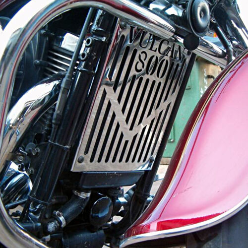 KAWASAKI VN800 CLASSIC VULCAN DRIFTER CHROME RADIATOR COVER GUARD GRILL PANEL