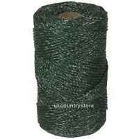 Green Electric Fencing Twine 500m