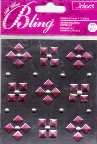 BN~So useful!! Jolee/'s ALL THAT BLING studs~Several Varieties~BEAUTIFUL