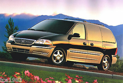 1999 ford windstar mini van brochure catalog lx se sel minivan ebay ebay