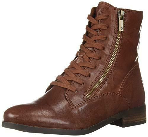 Lucky Brand Wouomo Hildran Rye Whiskey Leather Lace Up Combat Millitary stivali