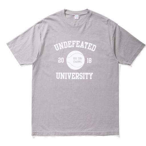 NEW - LIMITED EDITION UNDFTD/UNDEFEATED BIG TEN CHAMPS TEE - grau (Größe XS)