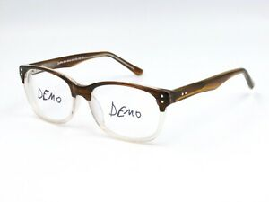 Specs For Less >> Details About Specs For Less Be 5214 Unisex Eyeglasses Frame C2 Clear Brown 51 16 135 R18
