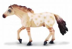 CollectA-88156-Dun-Appaloosa-Mustang-Horse-Model-Toy-Animal-NIP
