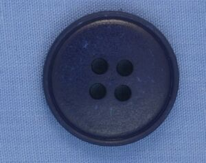 21mm Navy 4 Hole Button (x 2 buttons)