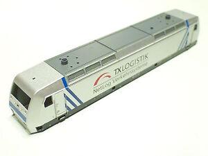 E3605-Fleischmann-1x-Gehaeuse-fuer-DB-AG-TX-Logistik-145-CL-031-silber-827321