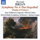 Brian - Symphonies NOS 4 and 12 Audio CD