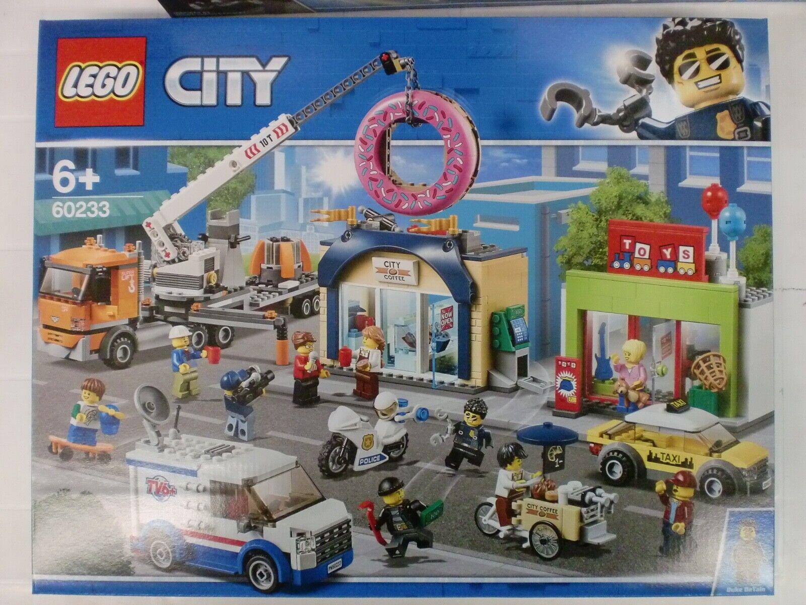 LEGO 60233 - INAUGURAZIONE DELLA CIAMBELLERIA - serie CITY