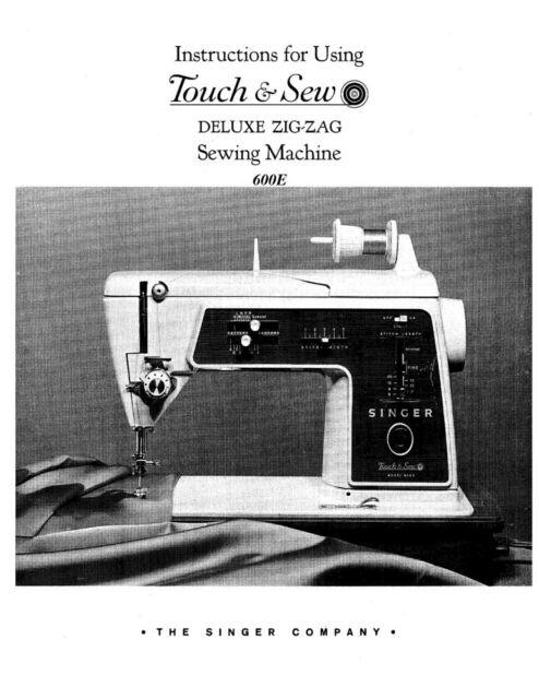 Singer sewing machine models 600e 603e adjusters service | etsy.