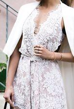 The Jetset Diaries X Revolve Secret Lace Bodysuit & Shorts 2 Piece Set XS