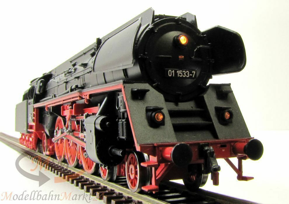 Piko 50104 Press máquina de vapor br 01 1533-7 preßnitztalbahn DSS época V pista h0 1 87