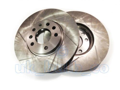 GROOVED Performance FRONT Brake Discs OPEL VECTRA B Estate 1.8 i 16V 1996-00