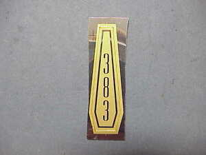 1966-VIP-Sport-Fury-III-Satellite-Mopar-Hood-Ornament-383-INSERT-Belvedere-I-II