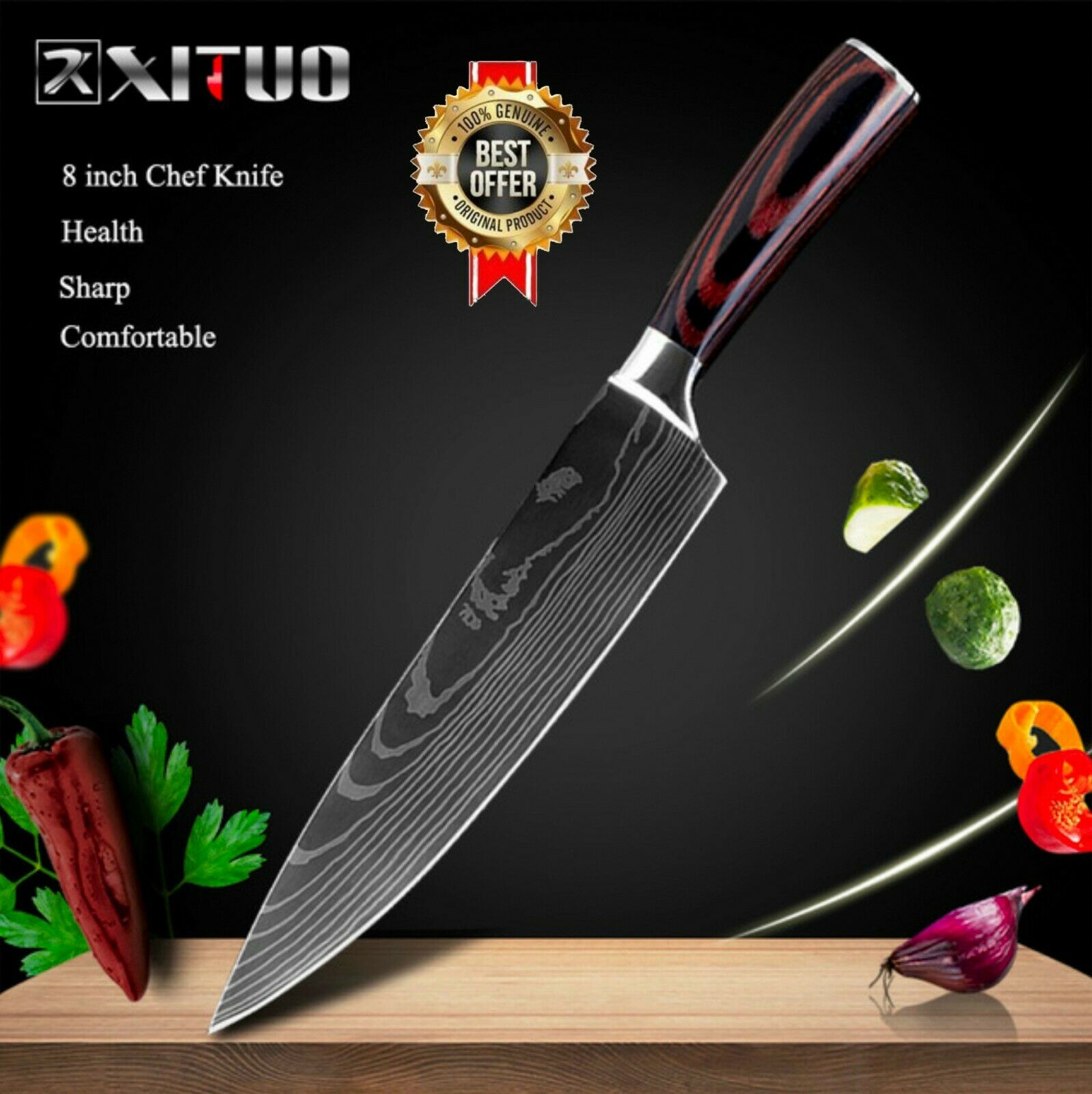 Model-1( 8in Chef Knife )