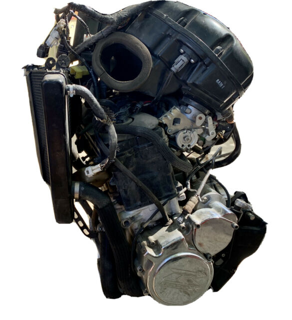 2008 GSXR 600 Engine Complete with Radiator/Airbox/Exhaust ...