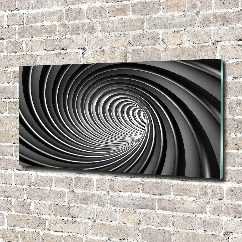 Wandbild aus Plexiglas® Druck auf Acryl 140x70 Kunst Wirbel