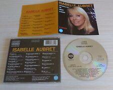 CD ALBUM LIBERTE 1789 LA SOURCE C'EST BEAU LA VIE ISABELLE AUBRET 21 TITRES 1988