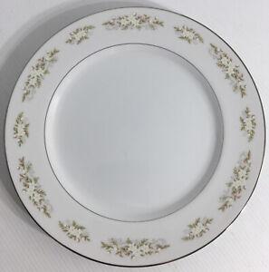 International Silver Co Dinnerware Springtime Serving Chop Plate White VTG 1960s