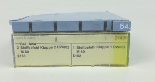 HA627 Siemens Landis /& Staefa PTM1.2Y420 Stellmodul