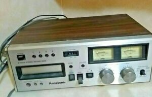 Vintage-Panasonic-Rs-808-8-Track-Stereo-Deck-serviced-belts-replaced