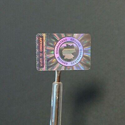"""""""made In Germany"""" 3d Hologramm Etiketten Garantiesiegel Sticker 30 X 20mm Siegel Belebende Durchblutung Und Schmerzen Stoppen"""