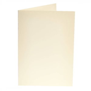 25 x C5 A5 Ivoire Vierge Cartes 300gsm & Enveloppes 100gsm Fabrication Carte Craft 864