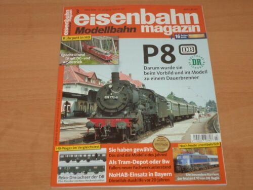 Eisenbahn Modellbahn Magazin 16 Seiten Extra Ausgabe 3 März 2019 Neuwertig!