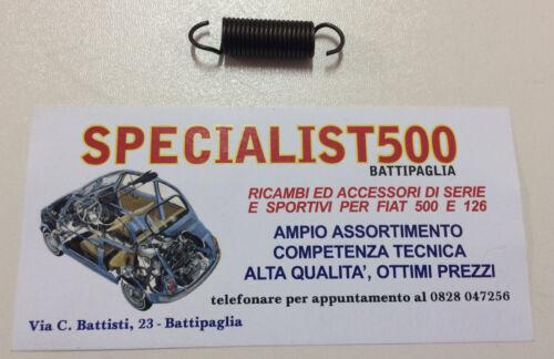 126 MOLLA TIRANTE ACCELERATORE A GAMBO CORTO FIAT   500 F-L-R