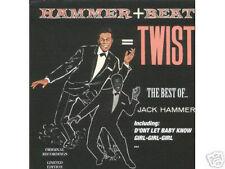 JACK HAMMER - Best of Jack Hammer! Rare POP CD