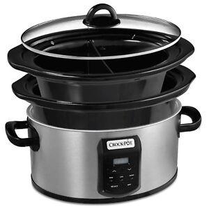 Crock-Pot multi Bol 5.6 L Autocuiseur CSC0504 Multi-Pot Cuisinière Neuf  </span>