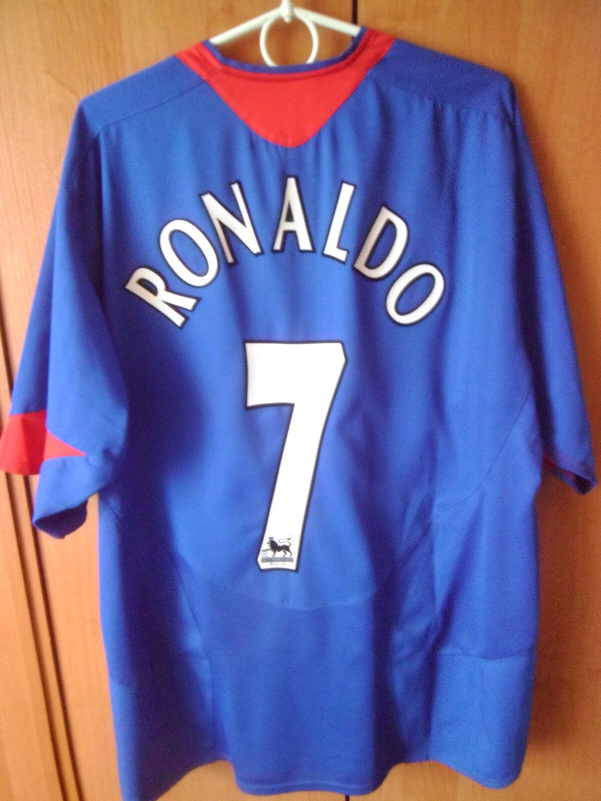 RONALDO      2005-06 Manchester United Jersey Away Shirt Jersey United Trikot XXL d37483