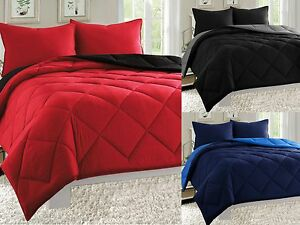Empire-3pc-Reversible-Comforter-Set-Microfiber-Quilted-Bed-Cover-Twin-Queen-King