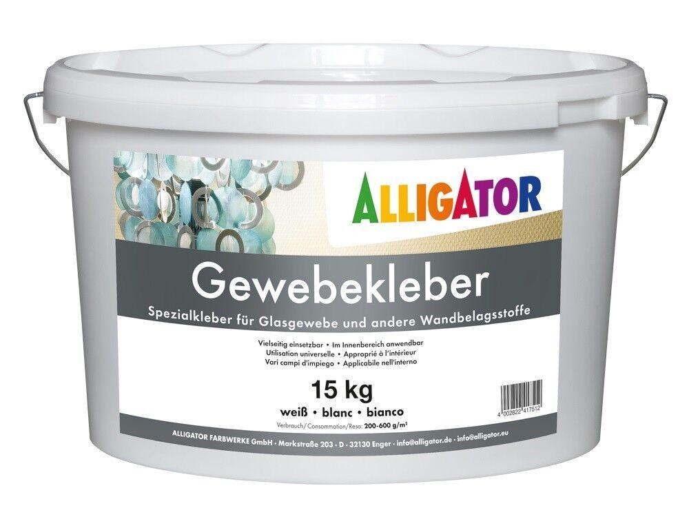12x Alligator Sichelit Gewebekleber 15kg -sehr gute Klebe-Eigenschaften-
