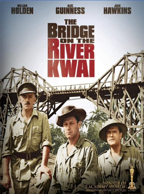 Bridge on the River Kwai Style G Movie Poster 13x19 inches