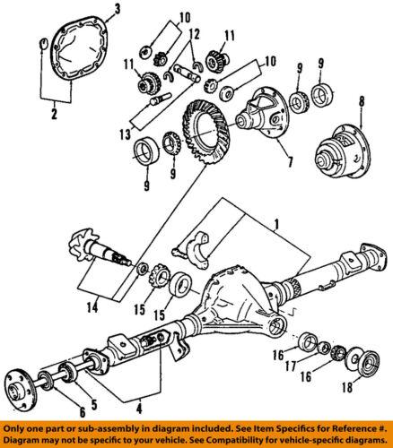 FORD OEM Rear-Axle Seals F67Z1S177ACA