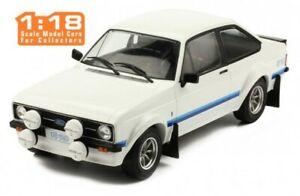 IXO-18CMC029-FORD-ESCORT-Mk-II-RS1800-Modello-Diecast-Auto-Da-Strada-Bianco-1977-1-18th