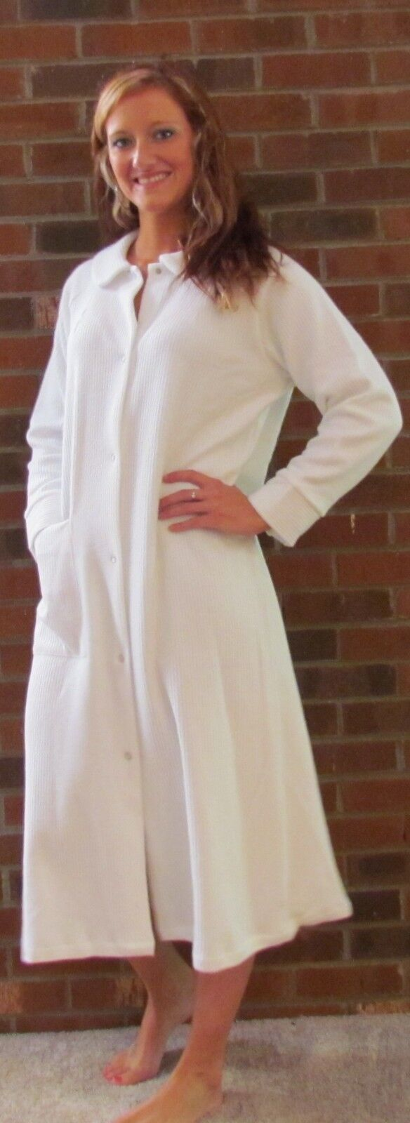 """Robe Corded Fleece 42"""" Many colors 'Made in USA' Great Price"""